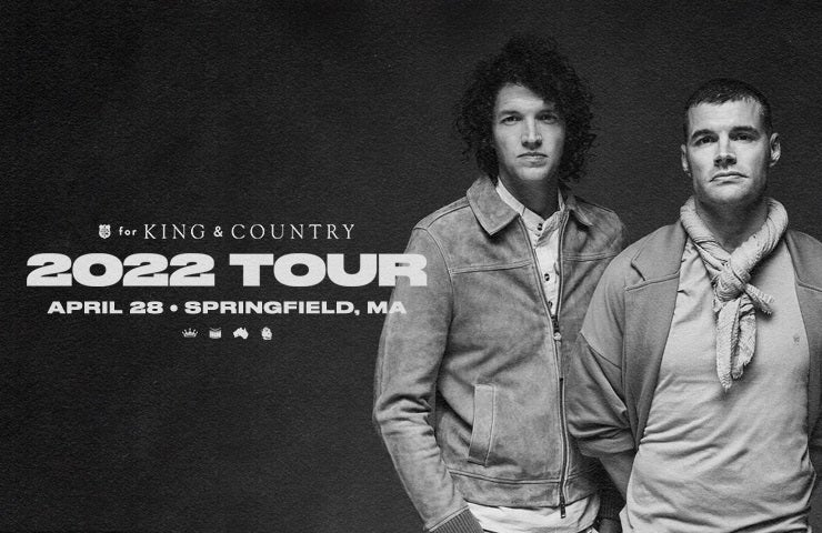 More Info for Rescheduled - for King & Country