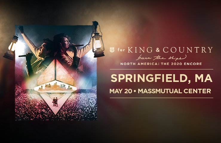 More Info for RESCHEDULED to 2022: for KING & COUNTRY