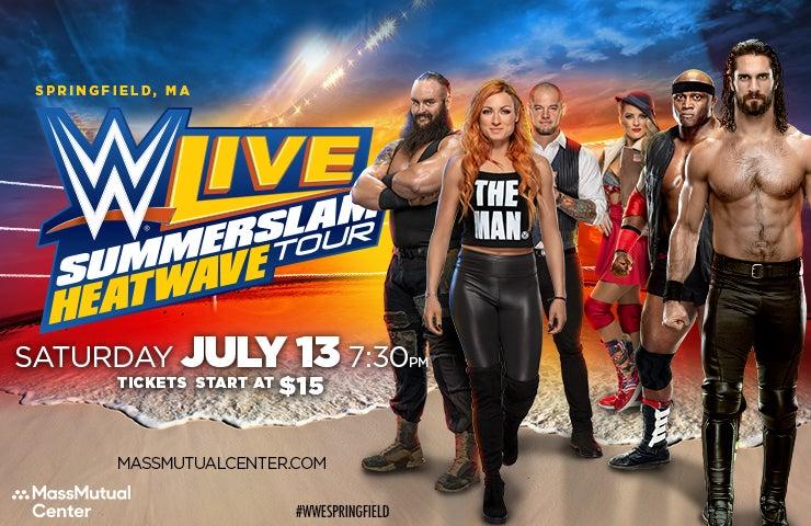 More Info for WWE Live: Summerslam Heatwave Tour