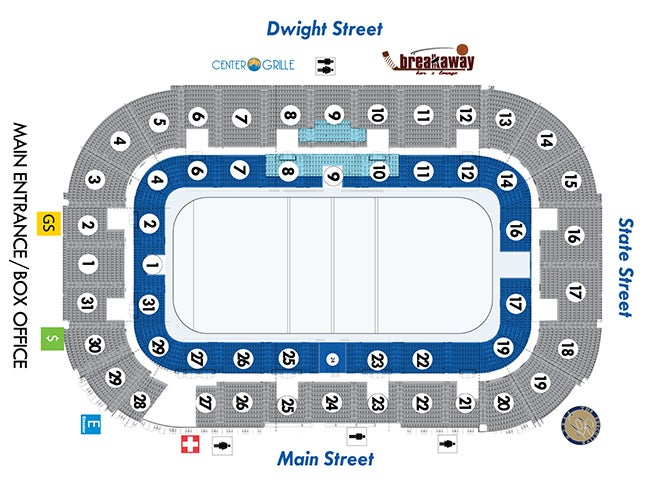 Seating Charts | MassMutual Center