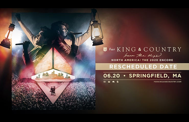 More Info for for KING & COUNTRY - Rescheduled from May 3