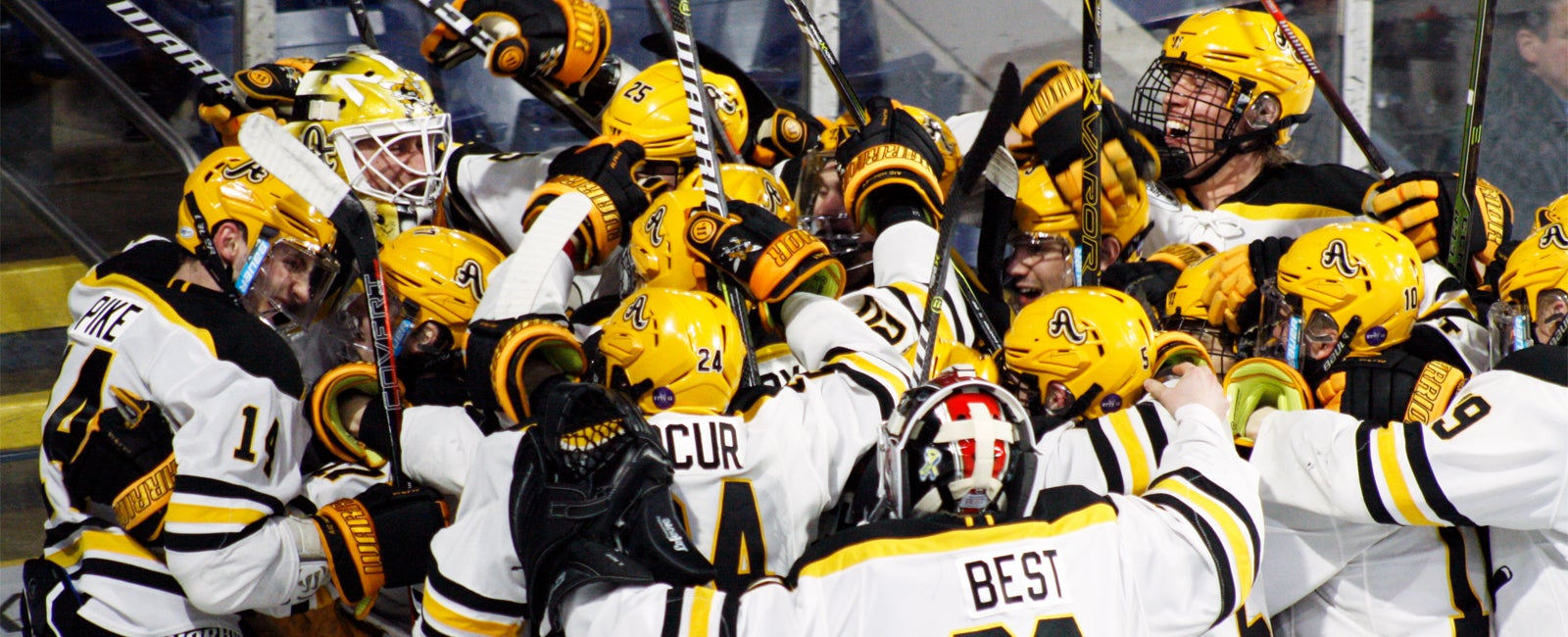 AIC Men's Hockey vs. Quinnipiac University