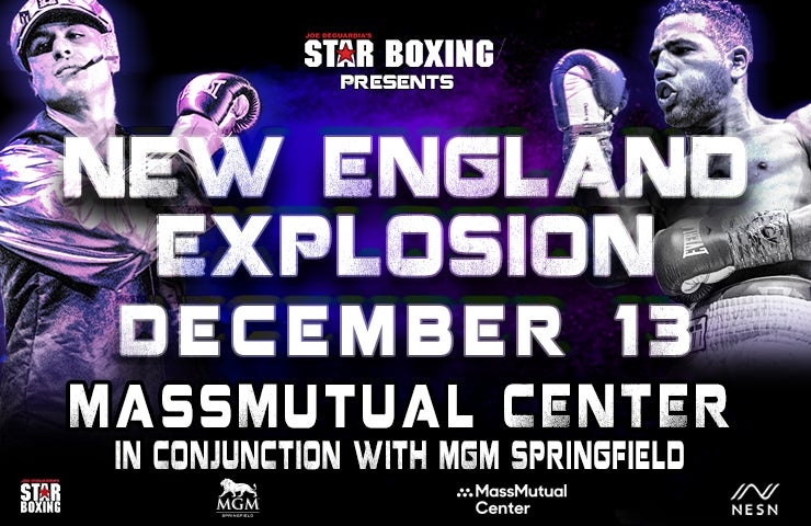 More Info for Star Boxing Presents New England Explosion