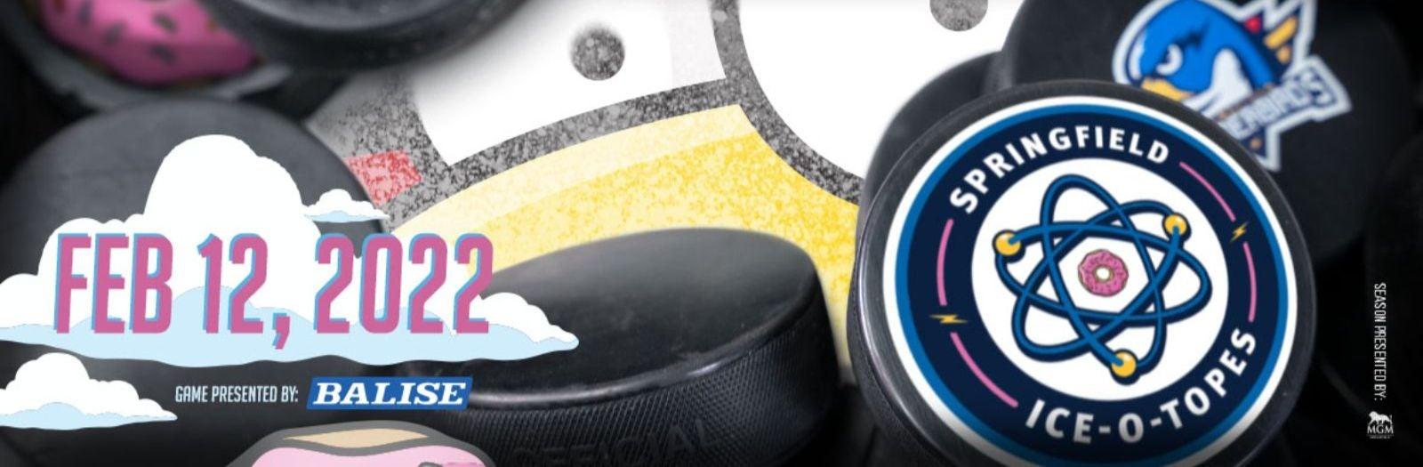 Springfield Ice-O-Topes vs Providence Bruins