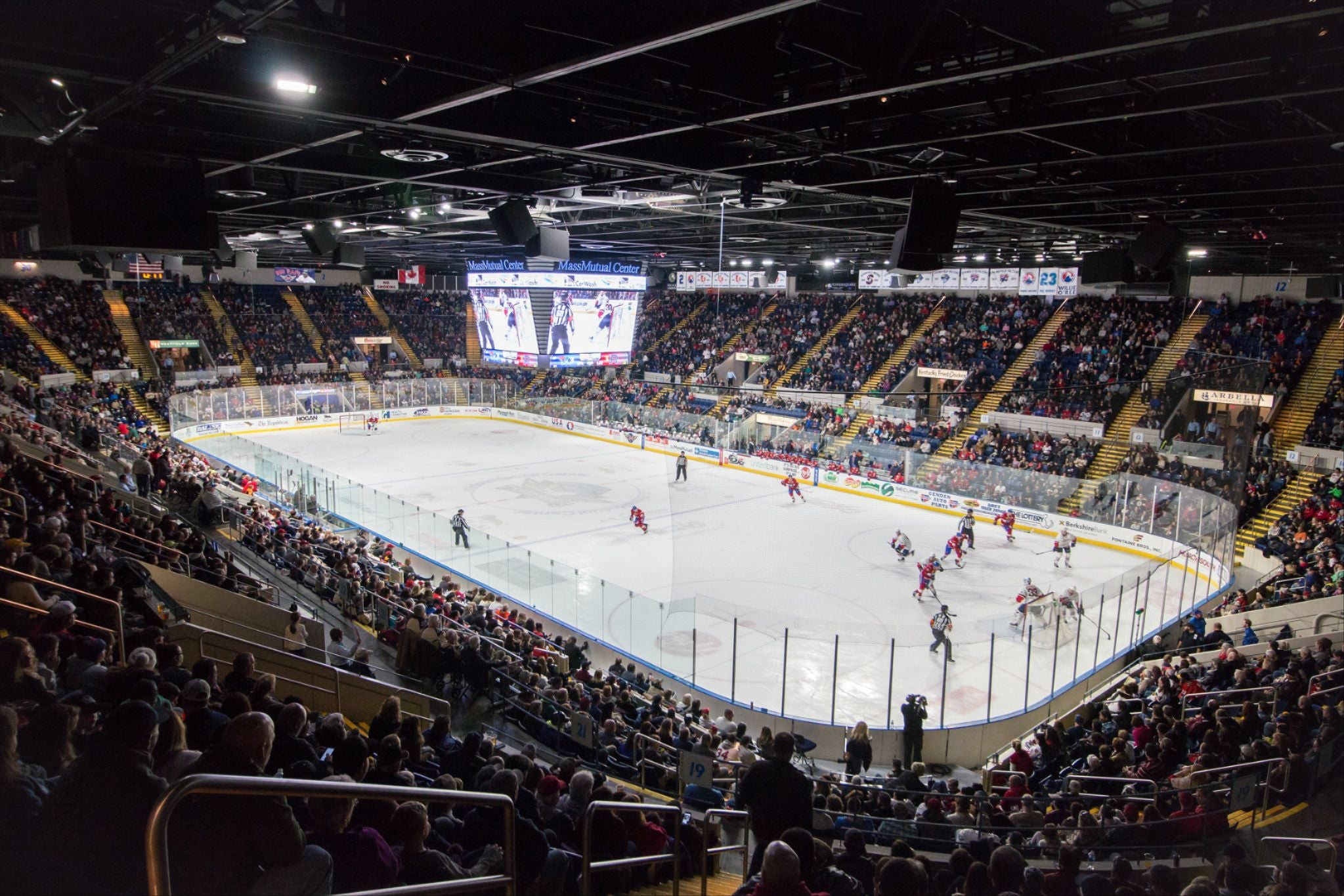 T-BIRDS TO CONTINUE CALLING MASSMUTUAL CENTER HOME