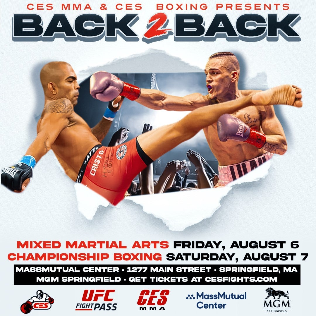#CESFights takes over the MassMutual Center with a back-to-back night of fights!