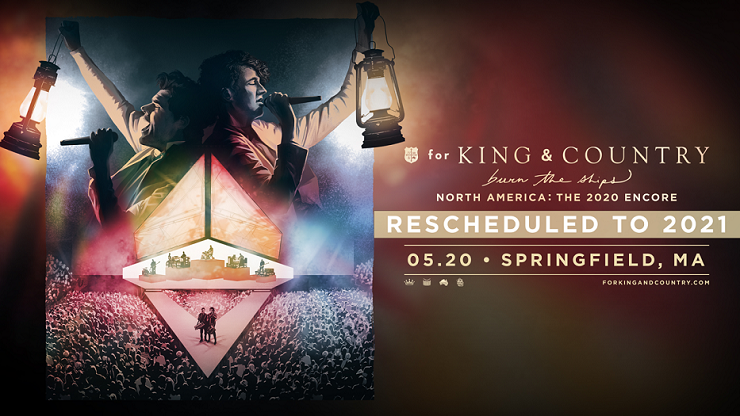 More Info for Rescheduled - for King & Country: burn the ships tour