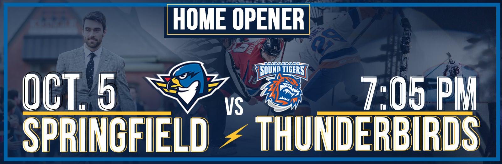 Springfield Thunderbirds VS Bridgeport Sound Tigers