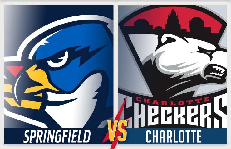 More Info for Springfield Thunderbirds vs Charlotte Checkers